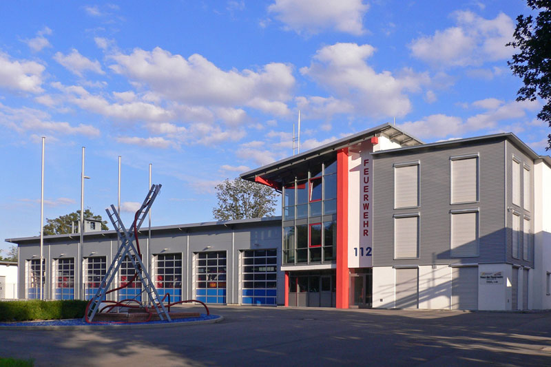 Im Haus der Feuerwehr im Ortsteil Aldingen ist die Abteilung II untergebracht.