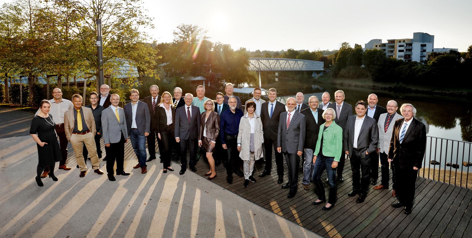 Gruppenfoto Gemeinderat 2017