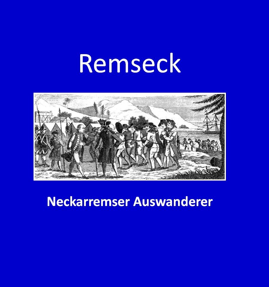 Gerhard Bickel: Neckarremser Auswanderer