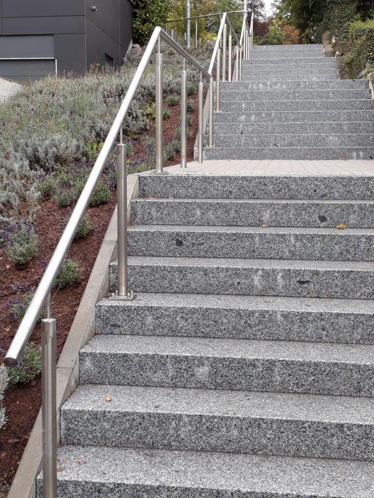 Die Treppenanlage »Auf der Steige« wurde saniert und kann nun wieder benutzt werden.