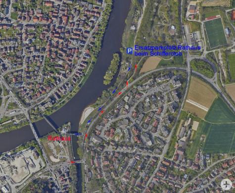 Stadt Remseck Am Neckar Parken Am Rathaus Nicht Möglich