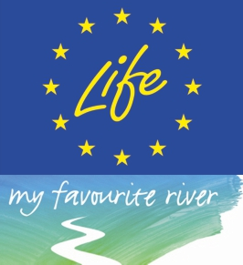 Logo Life+ my favourite river