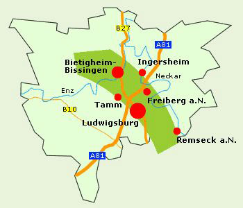 Karte Grüne Nachbarschaft