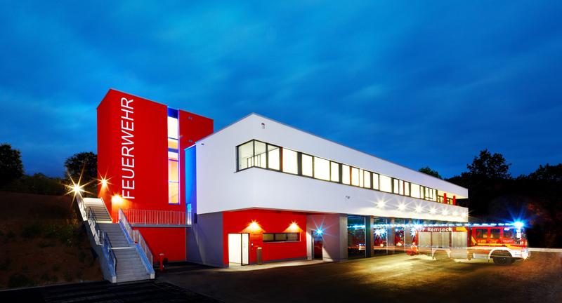 Im Feuerwehrhaus Rechts des Neckars im Ortsteil Neckarrems ist die Abteilung I zu Hause.