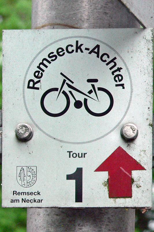 Radweg Remseck-Achter Tour 1