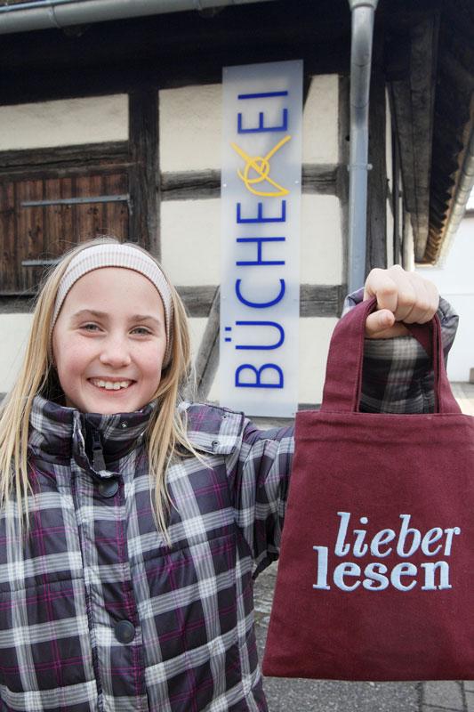 "Bücherei Aldingen ""Lieber lesen"""