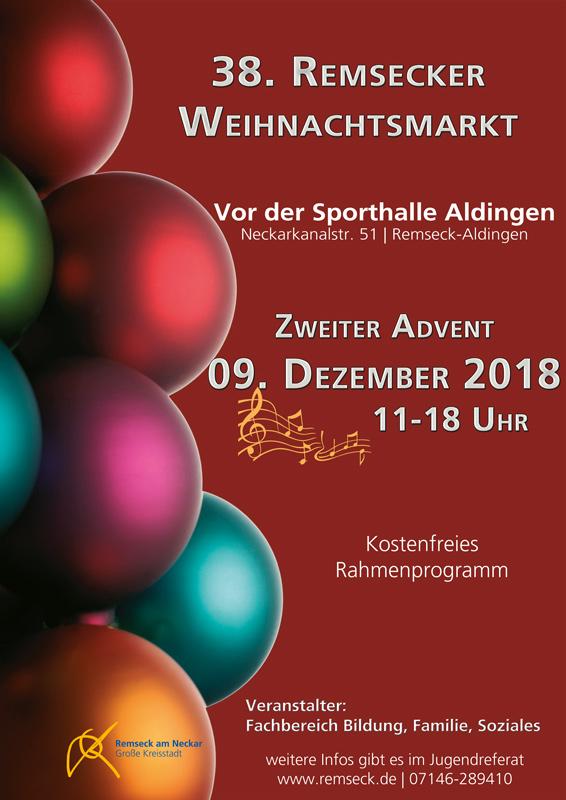 Vorab-Plakat Weihnachtsmarkt 2018