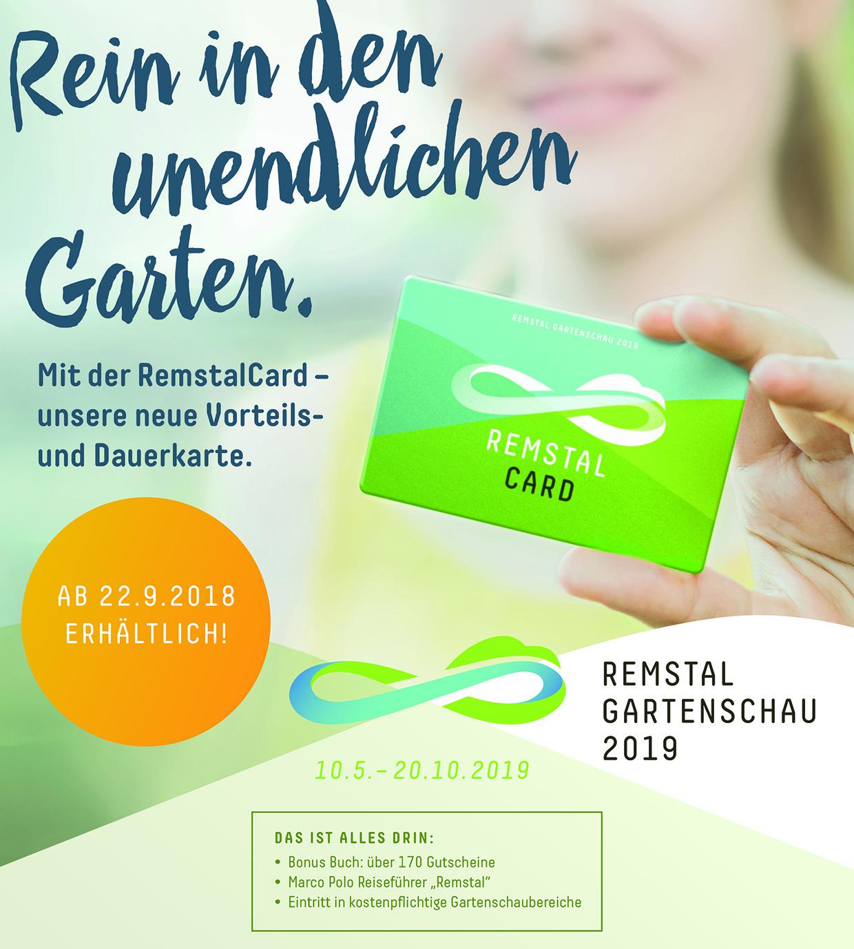 Remtal Gartenschau 2019: RemstalCard