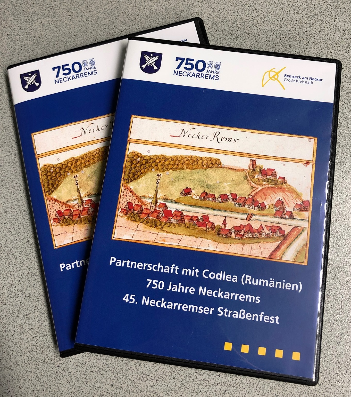 DVD »750 Jahre Neckarrems« | Stadt Remseck am Neckar