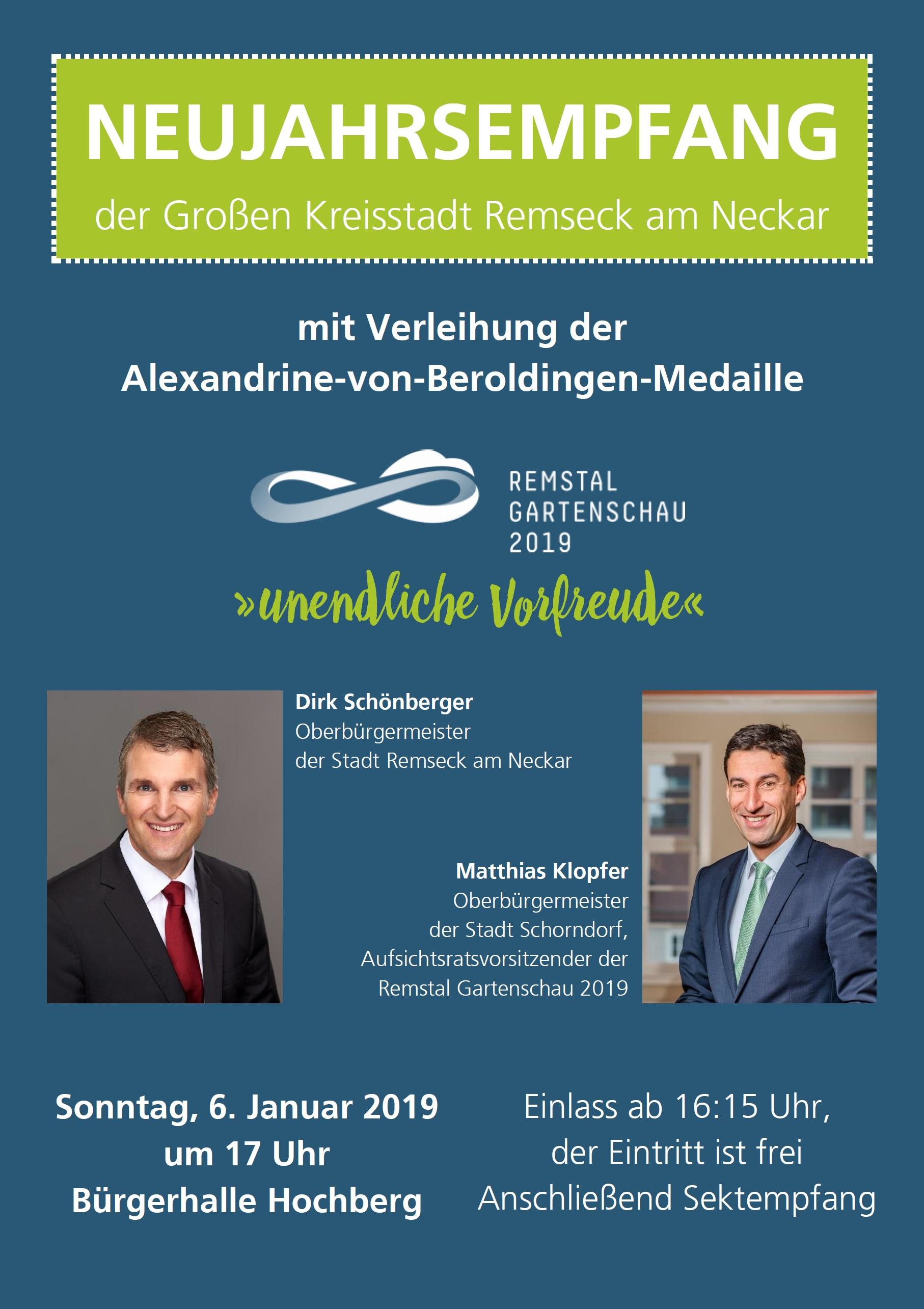 Neujahrsempfang 2019 - Stadt Remseck am Neckar