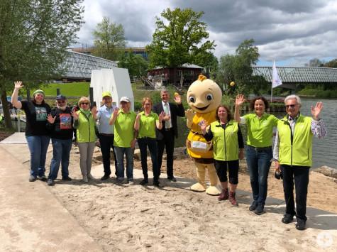 Über 80 Führungen und Touren werden zur Remstal Gartenschau 2019 in Remseck am Neckar angeboten – Ihre Guides freuen sich auf Sie! | Foto: Stadt Remseck am Neckar