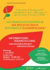 Flyer Info Wohnbau Arkansasstraße am 01.07.2019