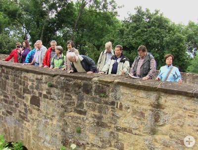 NABU-Gruppe bei einer Exkursion