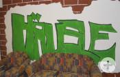 Graffitti im Häusle