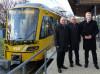 v.l.n.r.: EBM Karl-Heinz Balzer, SSB-Vorstandssprecher Wolfgang Arnold und OB Dirk Schönberger