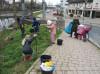 Kinder der Remsecker »Kita im Hof« bei der Markungsputzete 2018. Foto: Stadt Remseck am Neckar/Schellmann