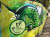 Grünes Graffiti in Remseck am Neckar zur Remstal Gartenschau 2019 | Foto: Stadt Remseck am Neckar