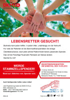 DKMS-Registrierungsaktion am 18.5.2019 in Remseck am Neckar