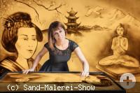 Sandmalerei Fantasy World