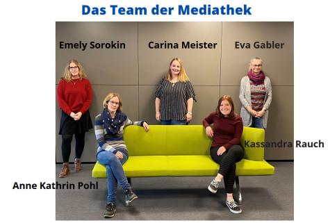 Teambild Mediathek im KUBUS