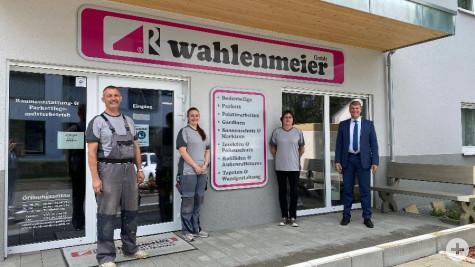 Unternehmensbesuch bei Wahlenmeier GmbH Raumausstatter im Steinbößer 2