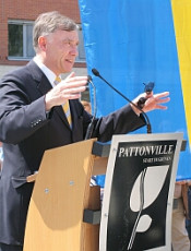 Bundespräsident Köhler in Pattonville