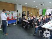 Kreativ und engagiert waren die Teilnehmer auch bei der zweiten Planungswerkstatt bei der Sache.
