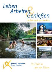 Titel Imagebroschüre Remseck am Neckar