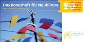Deckblatt des Neubürger Bonushefts