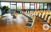 Im Feuerwehrhaus Rechts des Neckars gibt es 86 Sitzplätze.