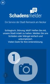 Der Schadensmelder für Remseck am Neckar