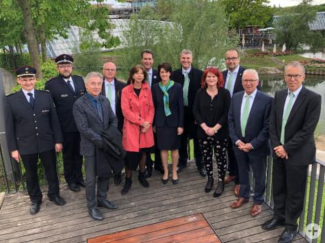 Pre-Eröffnungsveranstaltung zur Remstal Gartenschau 2019 in Remseck am Neckar am 10. Mai 2019 | Foto: Stadt Remseck am Neckar
