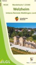Wanderkarten zur Remstal Gartenschau 2019