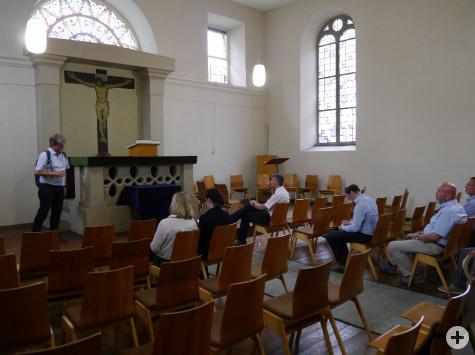 In der ehemaligen Synagoge   Foto: Stadt Remseck am Neckar