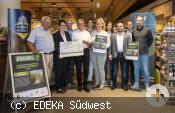 """Ehrung des Schwäbischer Albverein für das Projekt """"Heckenpflege – aber richtig"""""""